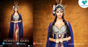 "Pooja Hegde First look in ""Mohenjo Daro"""