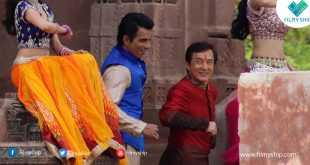 Jackie Chan does bhangra like a pro with Sonu Sood