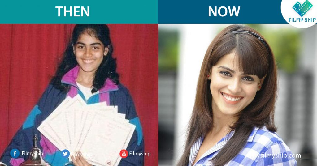 Genelia-Childhood-Pic