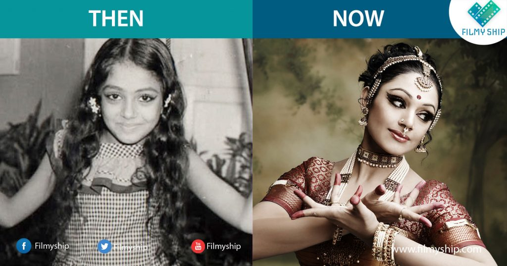Shobana-Childhood-Pic