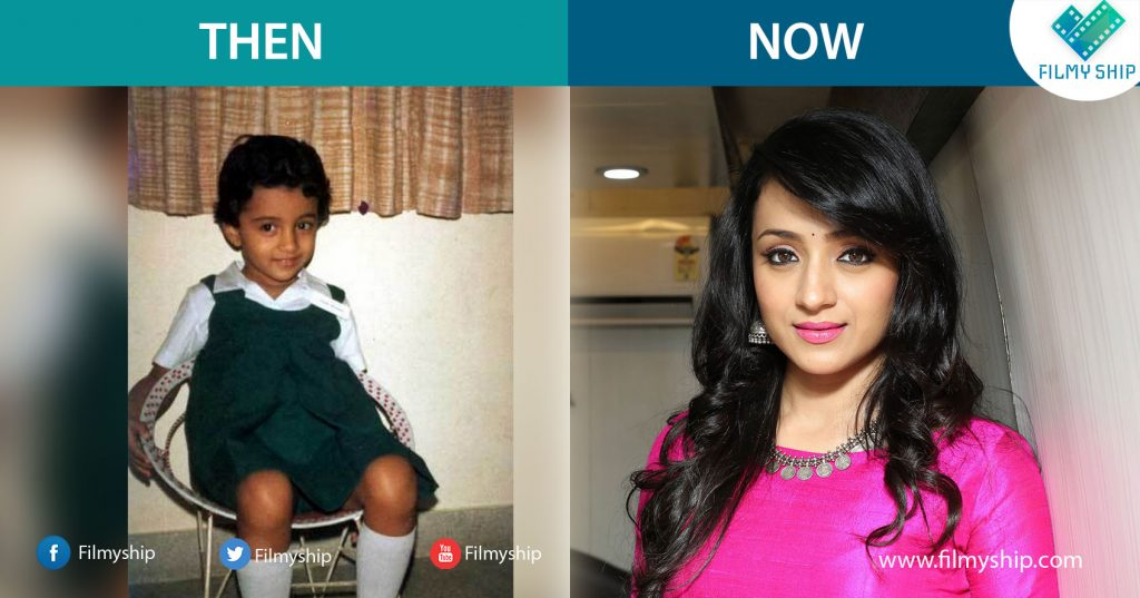 Trisha-Childhood-Pic