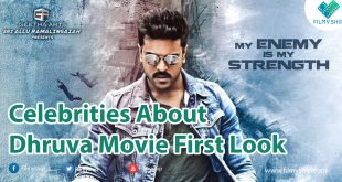 Dhruva Movie First Look