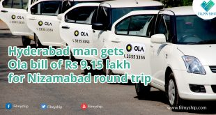 Hyderabad man gets Ola bill of Rs 9.15 lakh for Nizamabad round trip