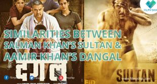 Similarities between Salman Khan's Sultan and Aamir Khan's Dangal