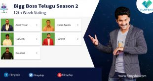 Bigg Boss Telugu Vote (Online Poll) – Season 2 12th Week (27 Aug – 31 Aug)