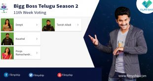 Bigg Boss Telugu Vote (Online Poll) – Season 2 11th Week (20 Aug – 24 Aug)